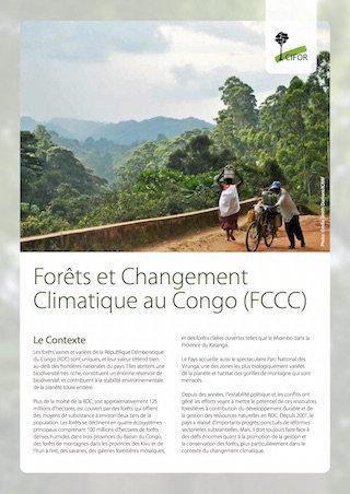 Forêts et Changement Climatique au Congo (FCCC)