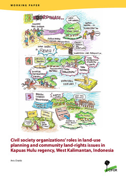 Civil society organizations' roles in land-use planning and community land rights issues in Kapuas Hulu regency, West Kalimantan, Indonesia