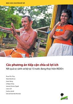 Các phuong án tiep can chia se loi ích: Ket qua so sánh so bo tai 13 nuoc dang thuc hien REDD+