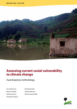 Assessing current social vulnerability to climate change: A participatory methodology