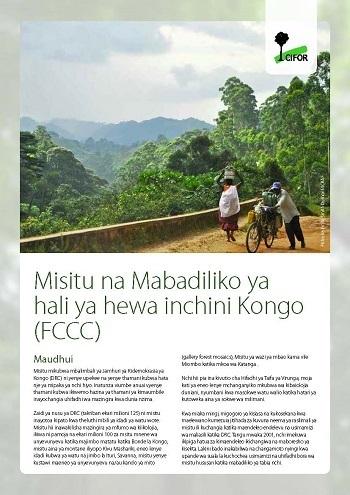Misitu na Mabadiliko ya hali ya hewa inchini Kongo (FCCC)