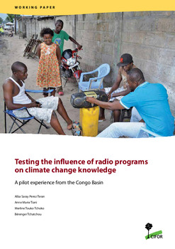 Testing the influence of radio programs on climate change knowledge: A pilot experience from the Congo Basin