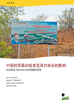 Chinese trade and investment and its impacts on forests: A scoping study in the miombo woodlands [Chinese]