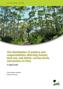 The distribution of powers and responsibilities affecting forests, land use, and REDD+ across levels and sectors in Peru: A legal study