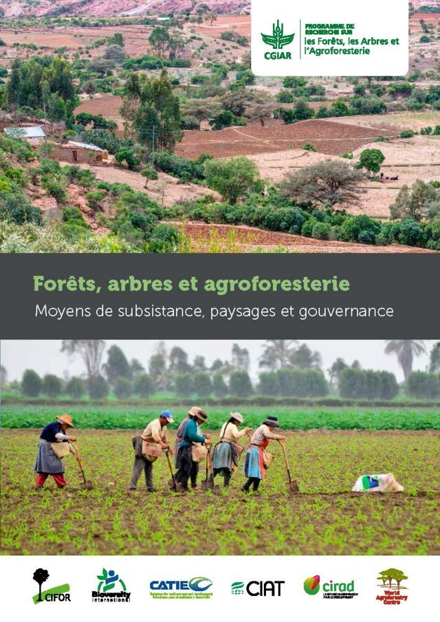 CGIAR Programme de Recherche sur Forêts, arbres et agroforesterie: Moyens de subsistance, paysages et gouvernance