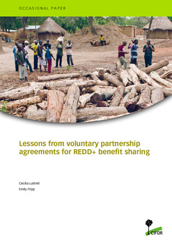 Lessons from voluntary partnership agreements for REDD+ benefit sharing