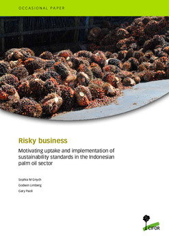 Risky business: Uptake and implementation of sustainability standards and certification schemes in the Indonesian palm oil sector