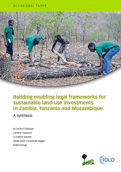 Building enabling legal frameworks for sustainable land-use investments in Zambia, Tanzania and Mozambique: A synthesis