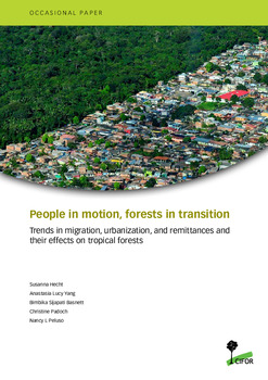 People in motion, forests in transition: Trends in migration, urbanization, and remittances and their effects on tropical forests