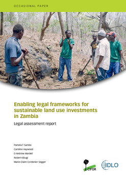 Enabling legal frameworks for sustainable land use investments in Zambia: Legal assessment report
