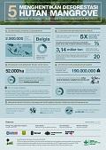 5 Alasan menghentikan deforestasi hutan mangrove sangat berguna bagi mitigasi perubahan iklim di Indonesia