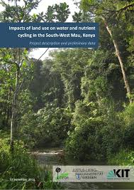 Impacts of land use on water and nutrient cycling in the South-West Mau, Kenya: Project description and preliminary data