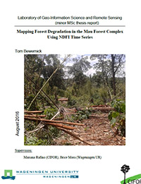 Mapping Forest Degradation in the Mau Forest Complex Using NDFI Time Series