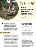 At the intersection of inequities: Lessons learned from CIFOR\'s work on gender and climate change adaptation in West Africa