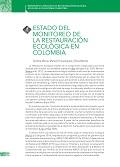 Estado del monitoreo de la restauración ecológica en Colombia