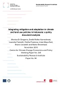 Integrating mitigation and adaptation in climate and land use policies in Indonesia: a policy document analysis