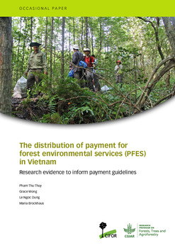 The distribution of payment for forest environmental services (PFES) in Vietnam: Research evidence to inform payment guidelines