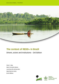 The context of REDD+ in Brazil: drivers, agents, and institutions – 3rd edition