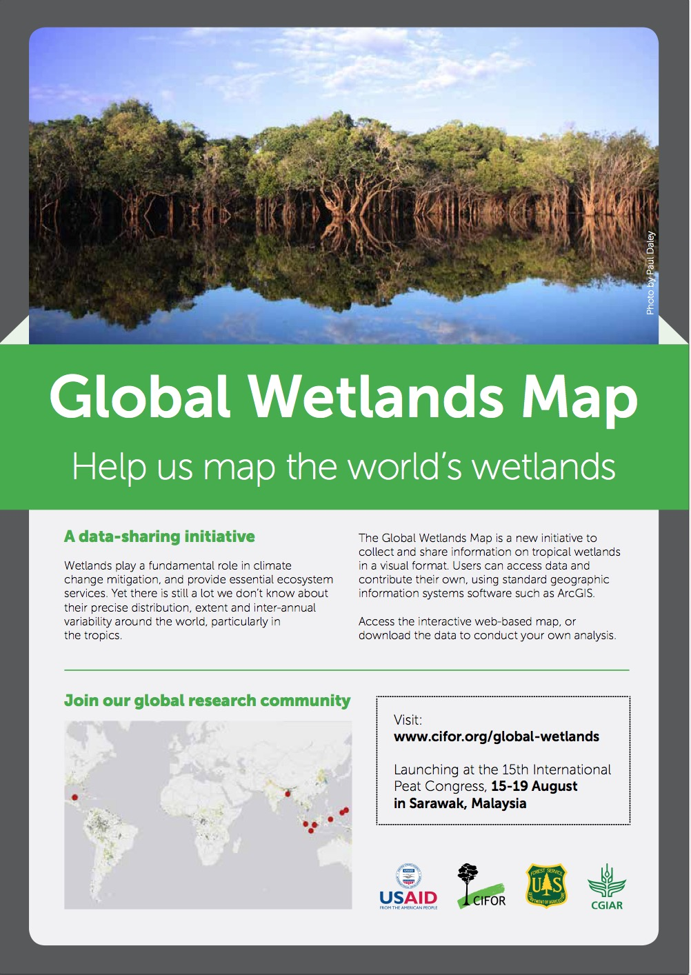 Global Wetlands Map: Help us map the world\'s wetlands