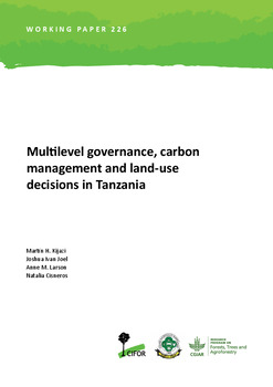 Multilevel governance, carbon management and land-use decisions in Tanzania