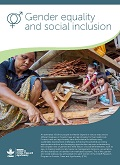 Gender equality and social inclusion