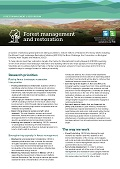 Forest management and restoration