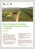 Main findings of the Global Comparative Study on Tenure in Uganda