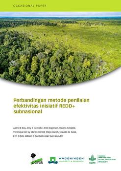 Membandingkan metode penilaian efektivitas inisiatif REDD+ subnasional