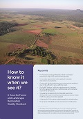 How to know it when we see it?: A Case for Forest and Landscape Restoration Quality Standard