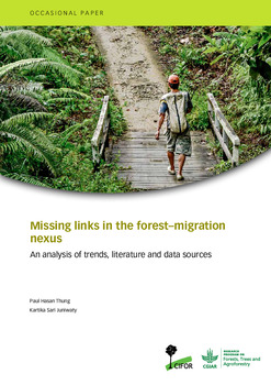 Missing links in the forest-migration nexus: An analysis of trends, literature and data sources