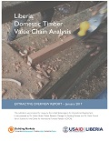Liberia: Domestic Timber Value Chain Analysis