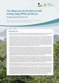Tác động của chi trả dịch vụ môi trường rừng (PFES) tại Sơn La: Từ giả thuyết đến thực tế