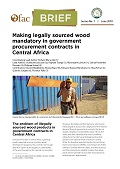 Ofac-Brief: Making legally sourced wood mandatory in government procurement contracts in Central Africa