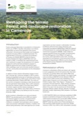 Reshaping the terrain: Forest and landscape restoration in Cameroon
