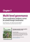 Multi-level governance: Some coordination problems cannot be solved through coordination