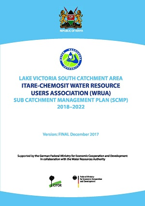 Itare-Chemosit Sub Catchment Management Plan (SCMP) 2018-2022