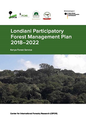 Londiani Participatory Forest Management Plan 2018-2022