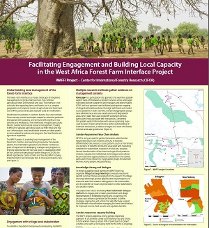 Facilitating Engagement and Building Local Capacity in the West Africa Forest Farm Interface Project