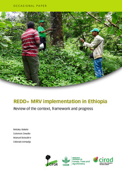 REDD+ MRV implementation in Ethiopia: Review of the context, framework and progress