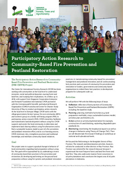 Participatory Action Research to Community-Based Fire Prevention and Peatland Restoration