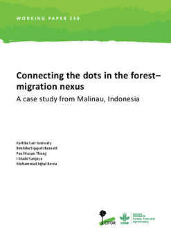 Connecting the dots in the forest-migration nexus: A case study from Malinau, Indonesia