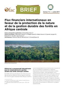 OFAC-Brief : Flux financiers internationaux en faveur de la protection de la nature et de la gestion durable des forêts en Afrique centrale