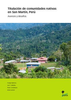 Titulación de Comunidades Nativas en San Martin, Perú: Avances y desafíos