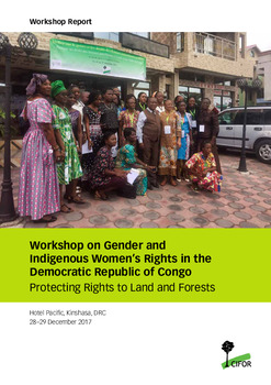 Workshop on Gender and Indigenous Women\'s Rights in the Democratic Republic of Congo: Protecting Rights to Land and Forests