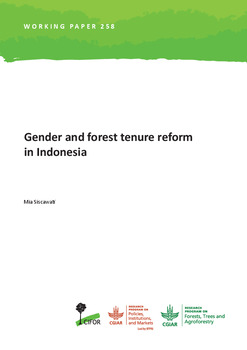 Gender and forest tenure reform in Indonesia