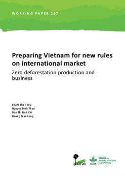 Preparing Vietnam for new rules on international market: Zero deforestation production and business