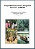 Integrated natural resource management research in the CGIAR: a brief report on the INRM Workshop held in Penang, Malaysia, 21-25 August 2000