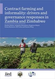 Contract farming and informality: drivers and governance responses in Zambia and Zimbabwe