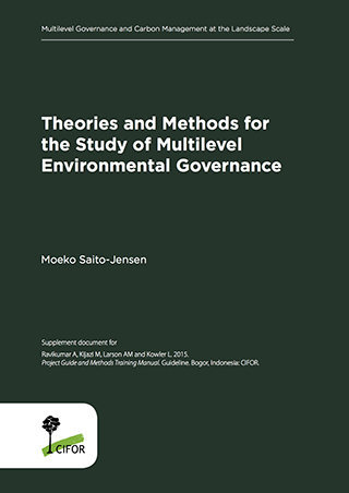 Theories and Methods for the Study of Multi-Level Environmental Governance