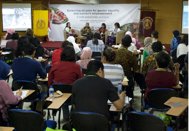 Call for equal rights and opportunities for women in oil palm